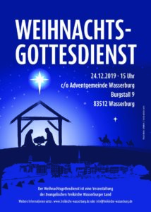 Weihnachtsgottesdienst @ Kirche der Adventgemeinde